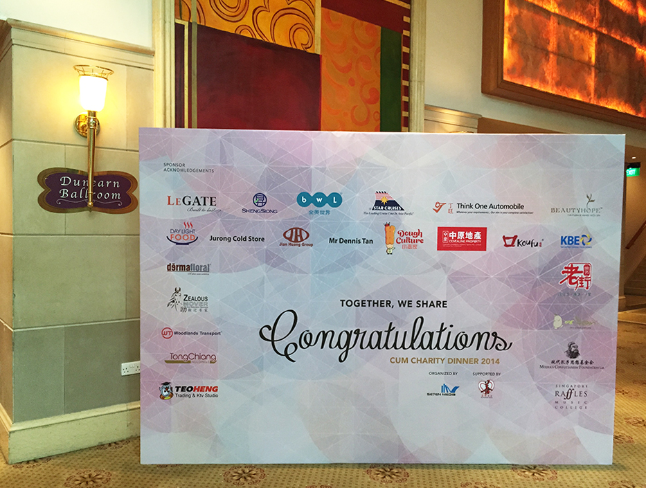 Raffles Country Club-Backdrop Banner-10ft x 7ft-27th Oct 14